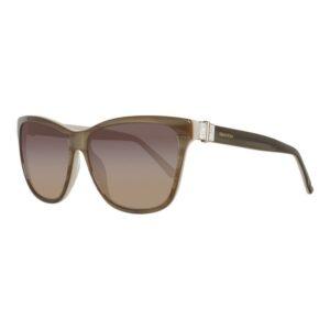 Óculos escuros femininos Swarovski SK0121-5659F