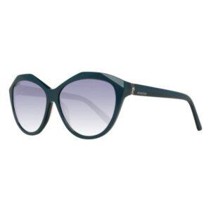 Óculos escuros femininos Swarovski SK0136-5898Q (ø 58 mm)