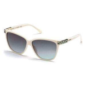 Óculos escuros femininos Swarovski SK-0137-57B (ø 59 mm)