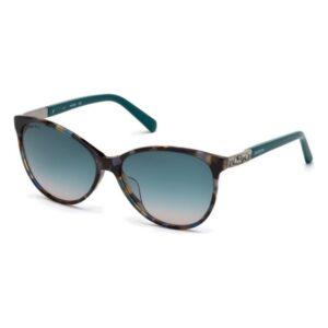 Óculos escuros femininos Swarovski SK0123H-5855P (ø 58 mm)