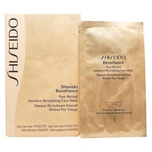 Máscara Facial Hidratante Benefiance Shiseido 4 Unidades