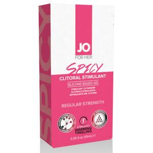 Estimulante Clitoriano Efeito Aquecimento Picante 10 ml System Jo SJ40124