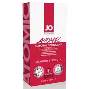 Estimulante Clitoriano Efeito Aquecimento Atómico 10 ml System Jo SJ40179