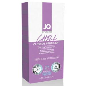 Estimulante Clitoriano Efeito Arrefecimento Arrepio 10 ml System Jo VDL40214