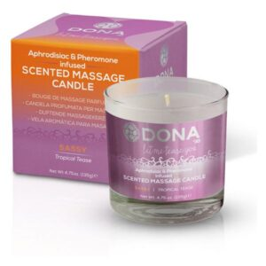 Vela de Massagem Perfumada Tropical Tease de 225 ml Dona 5574