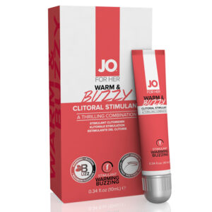 Estimulante Clitoriano Efeito Aquecimento Warm & Buzzy Original 10 ml System Jo 2169