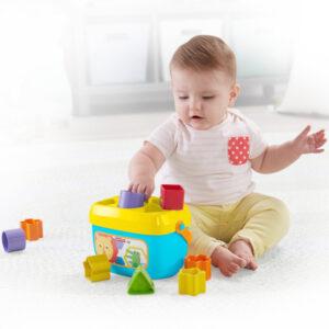 Cesta com Blocos de Construção Mattel 10 pcs (6+ meses)