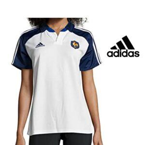 Adidas® Polo Rugby França | Branco