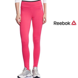 Reebok® Leggings Fitted Tight Rosa | Tamanho L