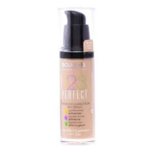 Fundo de Maquilhagem Líquido 123  Perfect Bourjois Spf 10 55 - Dark Beige - 30 ml