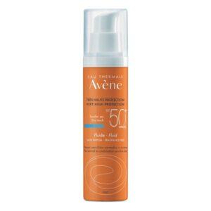 Protetor Solar Fluido Solaire Haute Sans Parfum Avene Spf 50+ (50 ml)