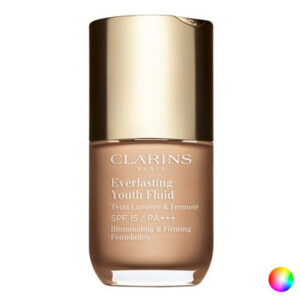 Base de Maquilhagem Fluida Everlasting Youth Clarins (30 ml) 110 - amber 30 ml