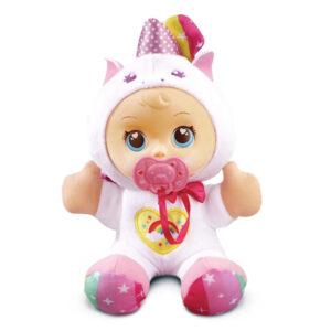 Boneco Bebé Little Love Dulce Unicornio Vtech