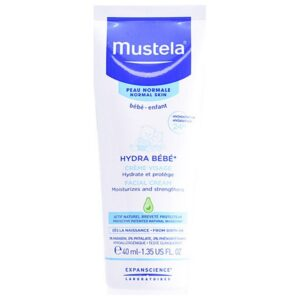 Creme Facial Hidratante para Bebés Mustela (40 ml)