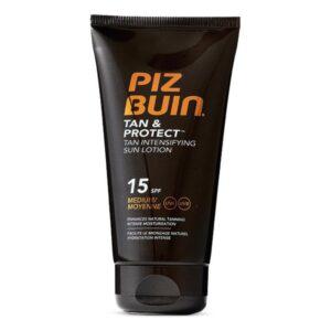 Loção Solar Tan & Protect Piz Buin Spf 15 (150 ml)