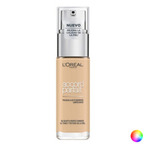 Base de Maquilhagem Fluida Accord Parfait L'Oreal Make Up (30 ml) 7D/7W-ambre dore 30 ml