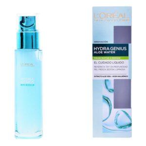 Loção Hidratante e Revitalizante Hydra Genius Aloe Water L'Oreal Make Up 70 ml
