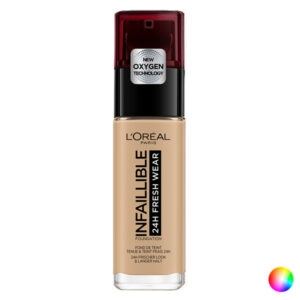 Base de Maquilhagem Fluida Infaillible 24h L'Oreal Make Up (30 ml) 250-sable éclat 30 ml
