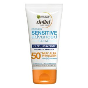 Protetor Solar em Gel Sensitive Advanced Garnier Spf 50+ (50 ml)