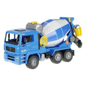 Camião Betoneira Man Tga Bruder Azul