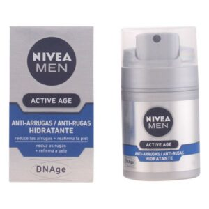 Creme Antirrugas Men Active Age Nivea 50 ml