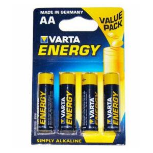 Pilhas Alcalinas Varta LR06 AA (4 uds)