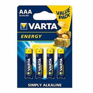 Pilhas Alcalinas Varta 4103-LR-03 AAA (4 uds)