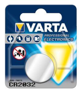 Pilha de Botão de Lítio Varta CR-2032 3 V