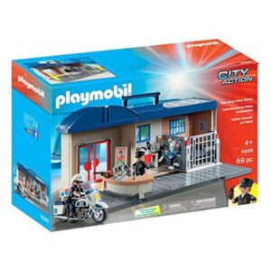 Playset City Action Police Station Playmobil 5689 (69 pcs)