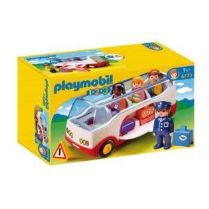 Playset 1.2.3 Bus Playmobil 6773 Branco
