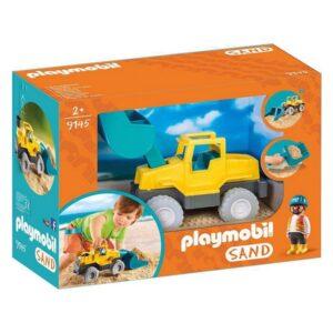 Escavadora Sand Playmobil 9145 Amarelo
