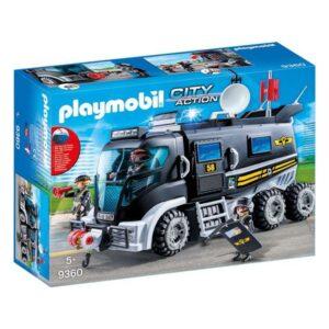 Camião com Luz e Som City Action Playmobil 9360 (15 pcs)