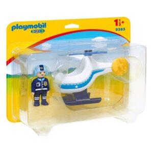 Helicóptero 1.2.3 Playmobil 9383 (2 pcs)