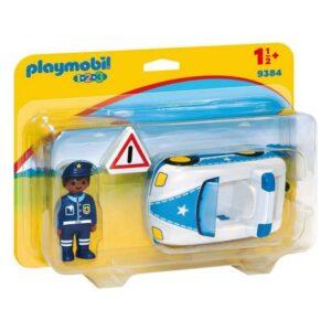 Carro de polícia 1.2.3 Playmobil 9384 (3 pcs)