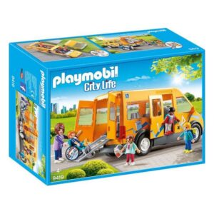 Autocarro City Life School Playmobil 9419 (13 pcs)