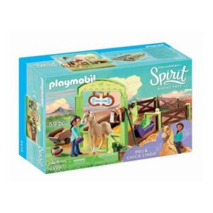 Playset Spirit Playmobil 9479 (59 pcs)