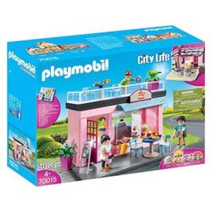 Playset City Life Coffee Shop Playmobil 70015 (108 pcs)