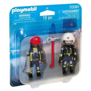 Bonecos City Action Firefighters Playmobil 70081 (13 pcs)