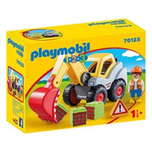 Playset 1.2.3 Construction Playmobil 70125 (6 pcs)