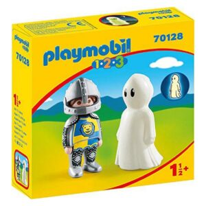 Bonecos Knight With Ghost 1.2.3 Playmobil 70128