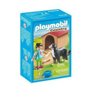 Playset Country Doggy House Playmobil 70136 (7 pcs)