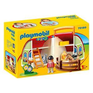 Playset 1.2.3 My First Farm Playmobil 70180 (11 pcs)