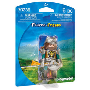 Boneco de Ação Wolf Warrior Playmobil 70236 (6 pcs)