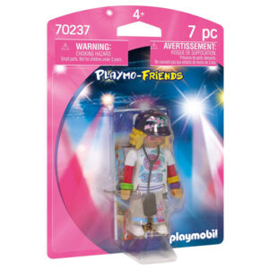 Boneca Rapper Playmobil 70237 (7 pcs)