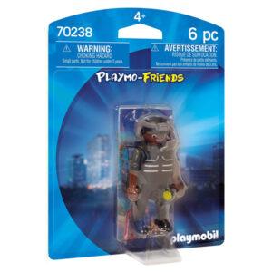 Boneco de Ação Special Forces Agent Playmo-friends Playmobil 70238 (6 pcs)