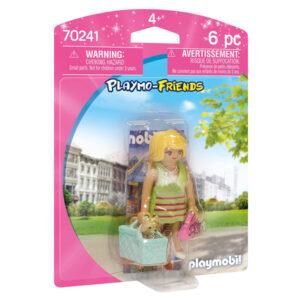Boneca Friends - Fashionist Playmobil 70241 (6 pcs)