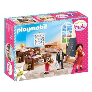 Playset City Life Class In Dörfli Playmobil 70256 (19 pcs)