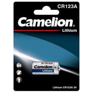 Pilha Camelion Lithium CR123A-BP1 3V
