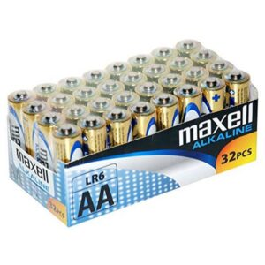 Pilhas Alcalinas Maxell MXBLR06P32 LR06 AA 1.5V (32 pcs)