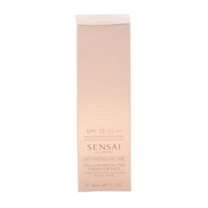 Protetor Solar Facial Sensai Cellular Protective Kanebo Spf 15 (50 ml)